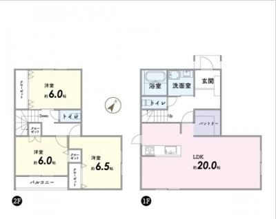 【参考プラン】岩倉村松町 土地・お家アウトドア可能!