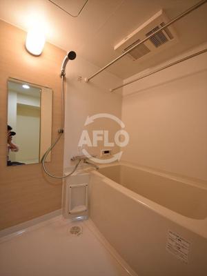 M.hills南堀江ノース 浴室スピーカーつき大型バスルーム
