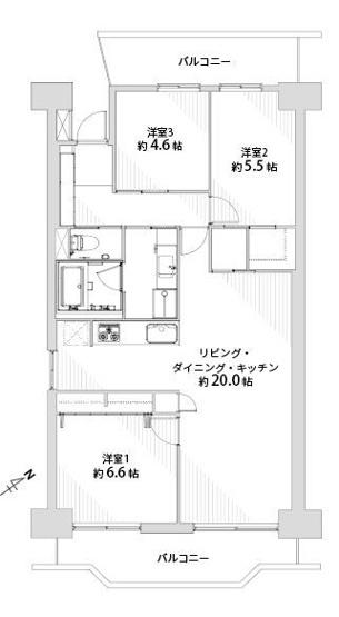 日商岩井リバーサイドマンションA棟