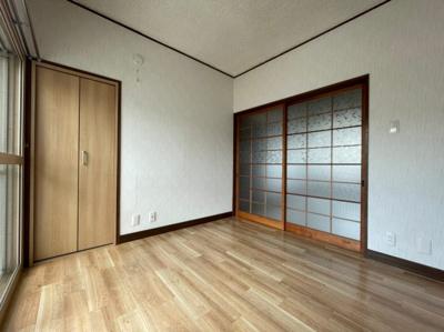 【寝室】汐見コーポ