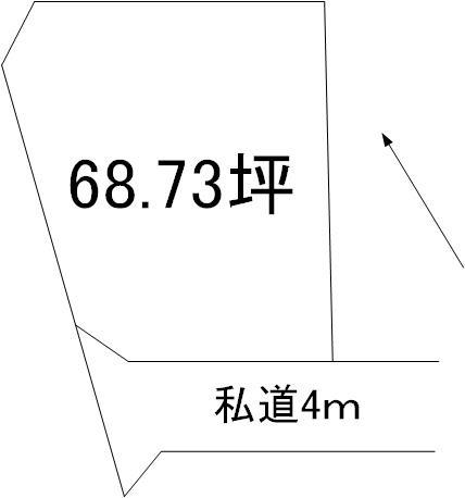 【土地図】見川5丁目土地