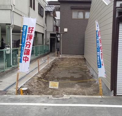 【外観】大阪市都島区御幸町1丁目 新築戸建