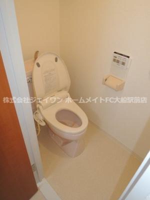 【トイレ】コンフォート本郷台B