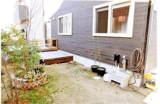 【庭】つくば市学園の森1丁目 中古戸建