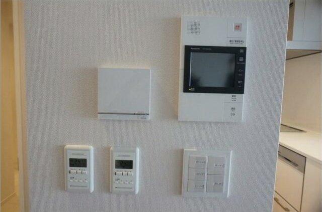 ホームセキュリティ完備で安心!リビングには床暖房も付いています!