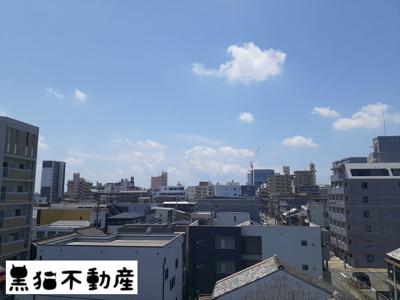 【展望】西穂高ハイツ