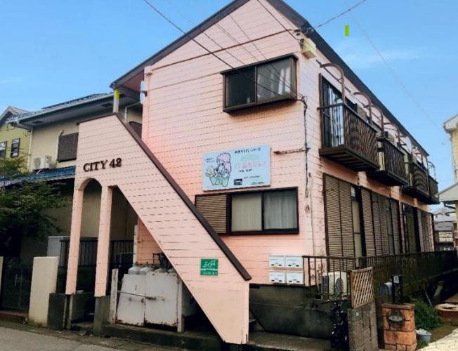 【外観】千葉市若葉区西都賀2丁目の一棟売りアパート