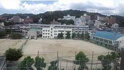 松山市立道後中学校 1333m