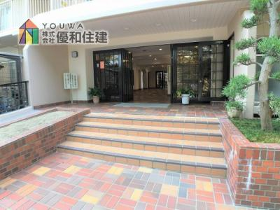 【玄関】ネオコーポ明舞壱番館