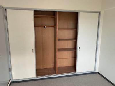 広めの便利な収納スペースです。