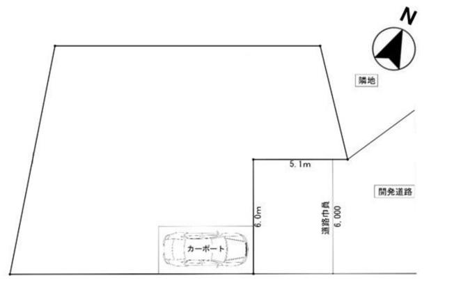 【区画図】大型5LDK+小屋裏収納