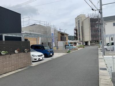 【前面道路含む現地写真】北条町横尾 第6