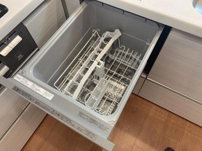 あると便利な食器洗浄機です。