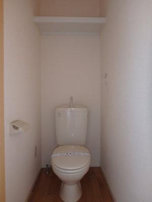 大島 ビバリースクエアC 1LDK トイレ