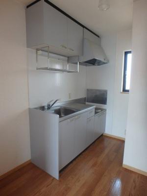 大島 ビバリースクエアC 1LDK キッチン