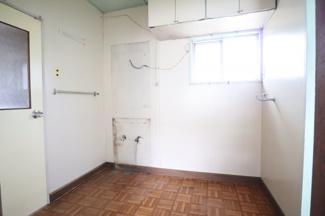 広々スペースの洗面室
