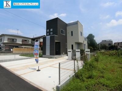 【外観】土浦市乙戸南3丁目 新築戸建 2号棟
