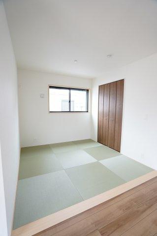 【同仕様施工例】3帖の畳スペースです
