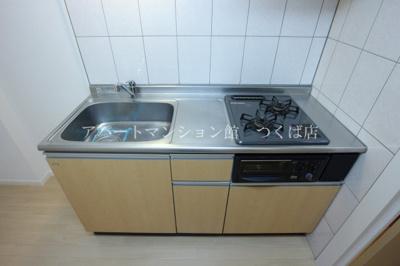 システムキッチン完備♪