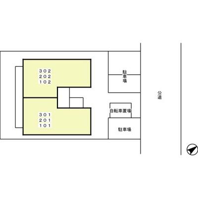 【区画図】トレビナ城木