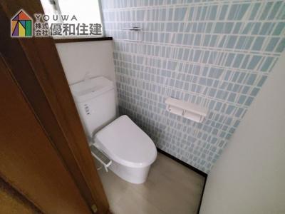【トイレ】神戸市垂水区歌敷山2丁目 中古戸建