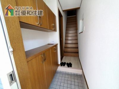 【玄関】神戸市垂水区歌敷山2丁目 中古戸建