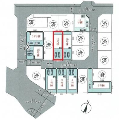 【区画図】神戸市垂水区青山台5丁目 16号棟 新築戸建