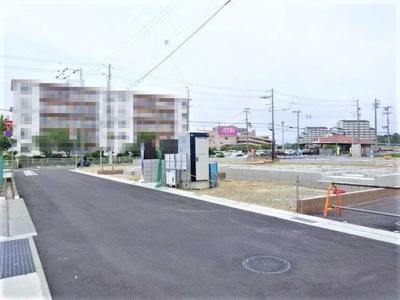 【前面道路含む現地写真】神戸市垂水区青山台5丁目 19号棟 新築戸建