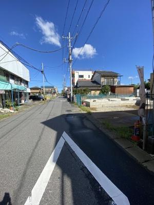 【前面道路含む現地写真】Ricca 取手市宮和田6期 駅近物件