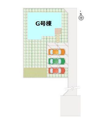 【区画図】新築 吉岡町大久保FH1-G