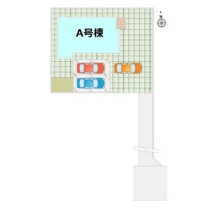 【区画図】新築 吉岡町大久保FH1-A