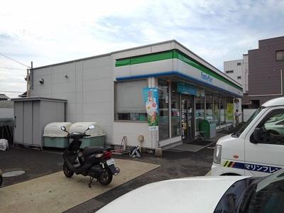 ファミリーマート湊一丁目店様まで1300m