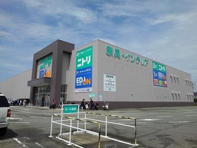 ニトリ和歌山店様まで2000m
