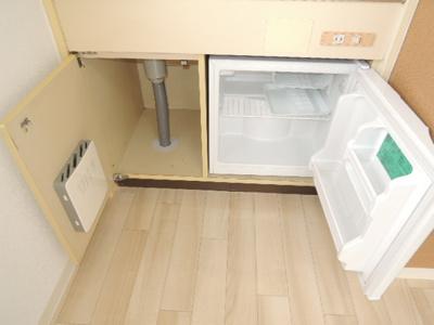 【キッチン】ドミール平野