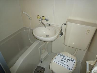 【浴室】バーサス光 中駒ビル