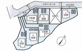 【区画図】リーブルガーデンS奈良市中山町4期