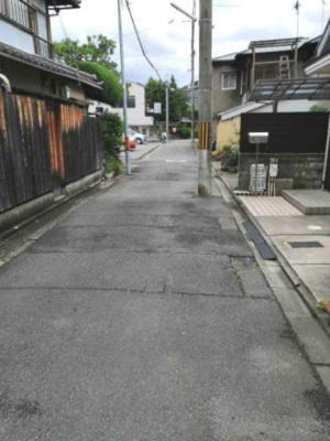 【前面道路含む現地写真】鞍馬口町 中古戸建