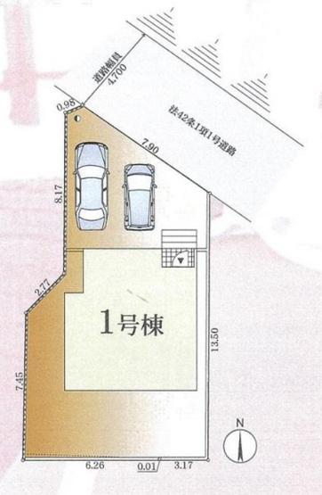 【区画図】平塚市河内第7 分譲住宅