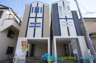 【外観】平塚市夕陽ケ丘 新築戸建 全2棟2号棟