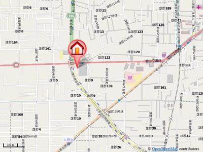 【地図】グランパル