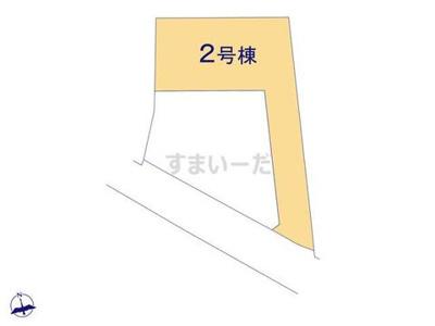 【区画図】リーブルガーデンS枚方市渚元町2期