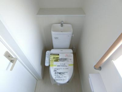 【トイレ】下妻市加養Ⅰ 新築戸建 1号棟