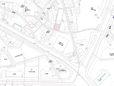 【地図】向洋町3丁目M借地