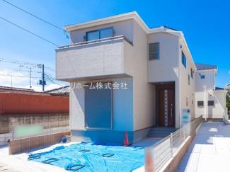 千葉市花稲毛区稲毛 新築一戸建て 外観施工例です。