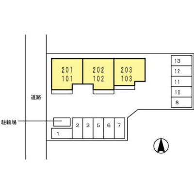 【区画図】リシェスコート