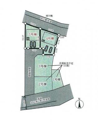【区画図】三木市別所町高木第5 Ⅰ期 5号棟