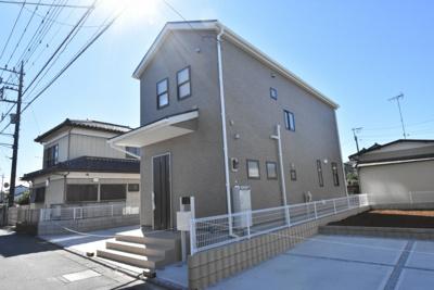 【外観】鴻巣市天神2丁目 新築分譲住宅全2棟