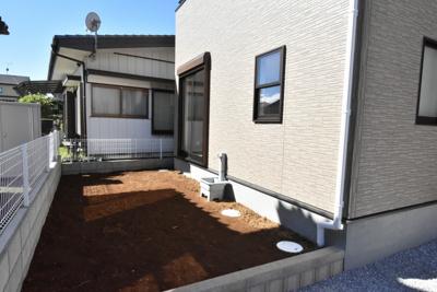 庭に使えるスペース