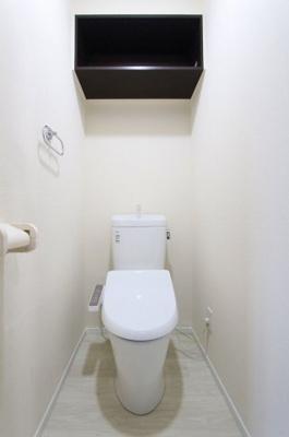 シンプルで使いやすいトイレです:リフォーム完了済♪平日も内覧出来ます♪八潮新築ナビで検索♪