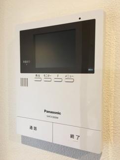 TVモニタ付きインターホン